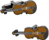 Cufflinks Inc. Men's Violin Cufflinks