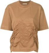 Marni gathered and stitched T-shirt