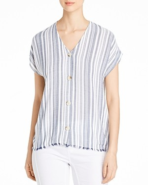 XCVI Cian Striped Top