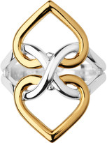 Links of London Infinite Love 18ct yellow-gold vermeil and sterling silver ring