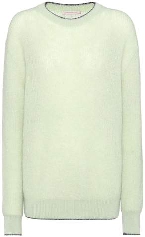 Christopher Kane Mohair-blend sweater