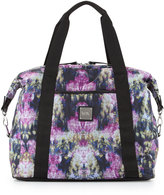 Nicole Miller City Life Printed Large Duffle Bag, Canopy/Black