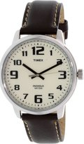 Timex Men's Elevated Classics T28201 Leather Quartz Fashion Watch