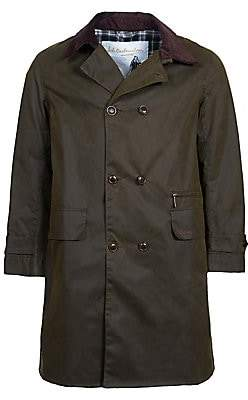 Barbour Men's Icons Haydon Double-Breasted Waxed Cotton Jacket