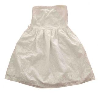 Benetton White Cotton Dresses