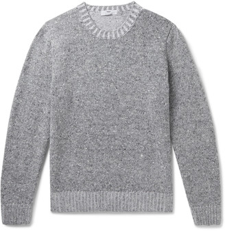 Inis Meáin Donegal Merino Wool and Cashmere-Blend Sweater - Men - Gray