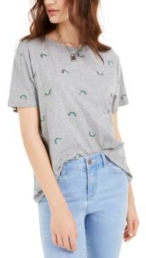 Rebellious One Juniors' Rainbow T-Shirt