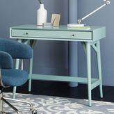 west elm Mid-Century Mini Desk - Oregano