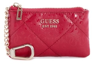 GUESS Dilla Quilted Logo Zip Pouch