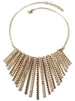 Amrita Singh Crystal Fringe Necklace.