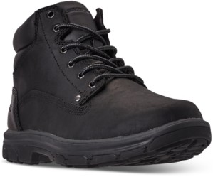 Skechers Men's Relaxed Fit Garnet Ankle Boots