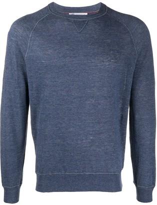 Brunello Cucinelli Linen Blend Sweater