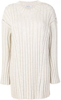 Dondup knitted jumper dress - women - Acrylic/Polyamide/Polyester/Mohair - S