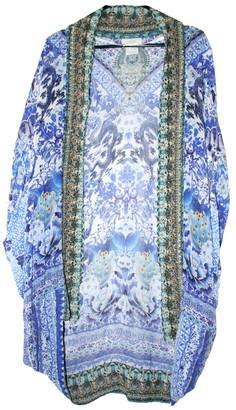 Camilla Blue Silk Jackets