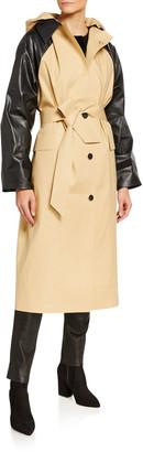 Kassl Below-the-Knee Trench Coat