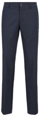 BOSS Slim-fit golf trousers in technical twill