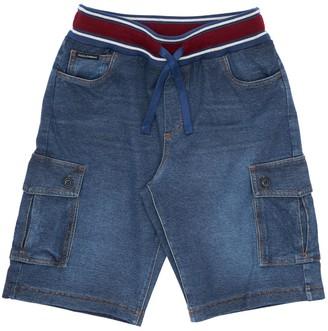 Dolce & Gabbana Cotton Denim Effect Shorts