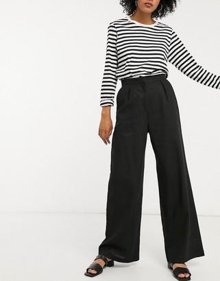 ASOS DESIGN linen slide pants