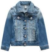 LJYH Boys Girls Vintage Washed Basic Denim Jacket