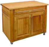 Catskill Craft Empire Island Kitchen Cart