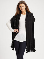 Ilana Wolf Sequined Jersey Wrap