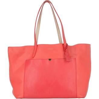 Smythson Red Leather Handbags