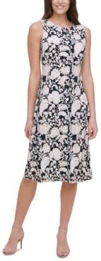 Tommy Hilfiger Petite Sorrento Printed Dress