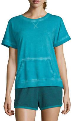 Xersion Dolman Short Sleeve Sweatshirt