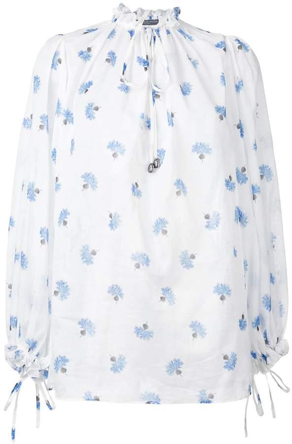 Alexander McQueen printed blouse