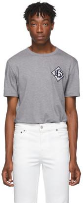 Dolce & Gabbana Grey Logo T-Shirt