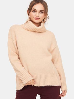 Lush Turtleneck Oversized Sweater