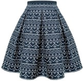 Rumour London Anna Embroidered Flared Skirt