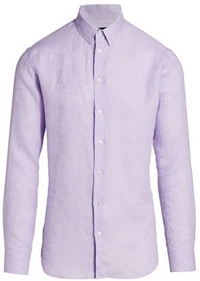 Giorgio Armani Linen Sport Shirt