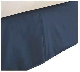 IENJOY HOME Becky Cameron Premium Ultra Soft Luxury Bed Skirt Dust Ruffle, Navy, T