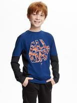Old Navy Go-Dry 2-in-1 Graphic Tee for Boys