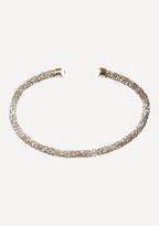 Bebe Crystal Collar Necklace