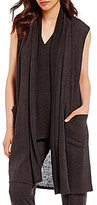 N by Natori Sweater-Knit Lounge Vest