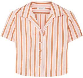 Frame Striped Jacquard Shirt