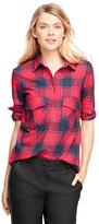 Brooks Brothers Flannel Buffalo Check Shirt