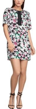 BCBGMAXAZRIA Floral-Print Shift Dress