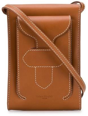 Maison Margiela stitch detail messenger bag