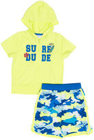 WIPPETE Wippette 2-pc. Surf Dude Swim Trunk Set - Baby Boys newborn-24m