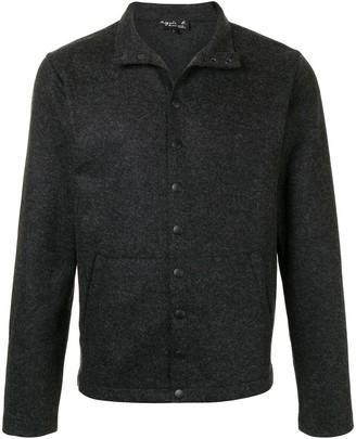 agnès b. Knitted Buttoned Cardigan