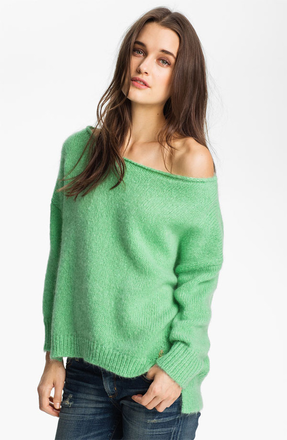 Juicy Couture Off Shoulder Sweater