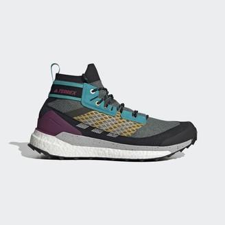 adidas Terrex Free Hiker Blue Hiking Shoes