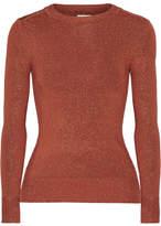 Joos Tricot Lurex Sweater - Bronze