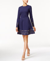 MICHAEL Michael Kors Embellished Fit & Flare Dress