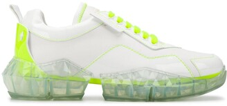 Jimmy Choo x YK Jeong Diamond/M low-top sneakers