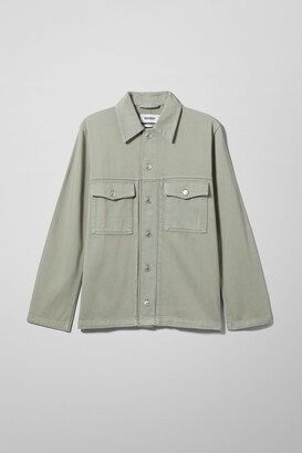 Weekday Cedor Denim Jacket - Green