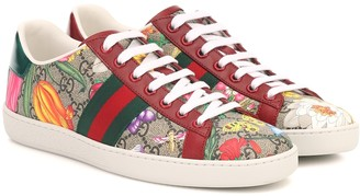 Gucci Ace GG Supreme Flora sneakers
